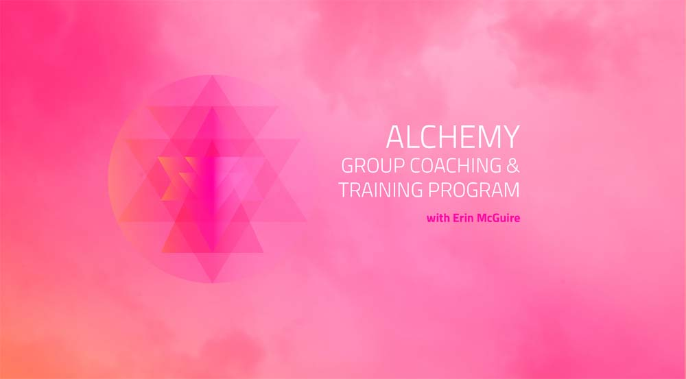 Alchemy Training to Become an Alchemy Coach